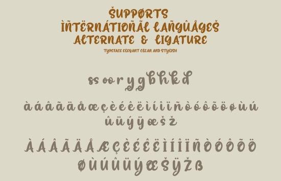 Bosskuy font free