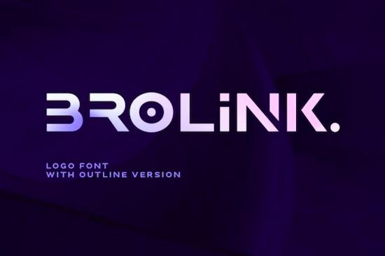 Brolink font free download