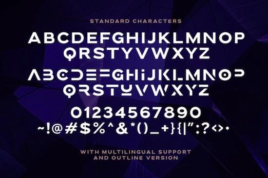 Brolink font free