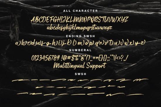 Bustered font download