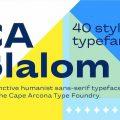 CA Slalom font free