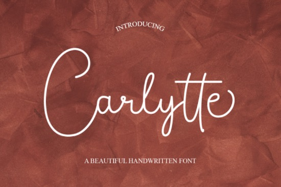 Carlytte font free download