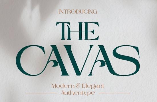 Cavas font free download