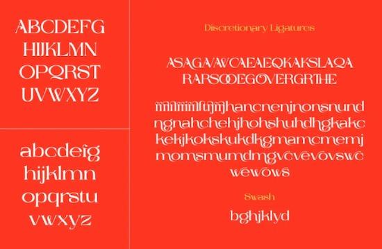 Cavas font free