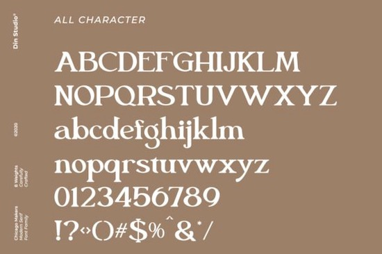 Chicago Makers font download