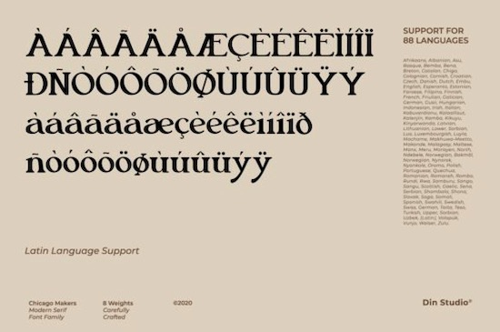 Chicago Makers font free