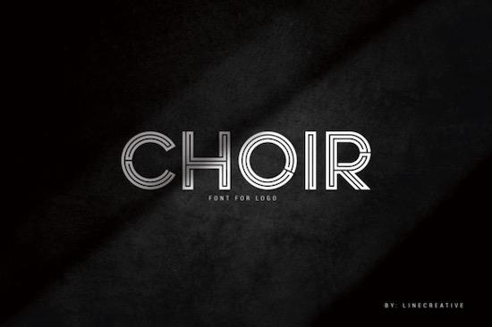 Choir font free download