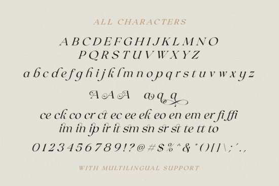 Claire Murphy font download