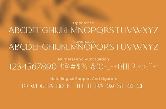 Colabero font free