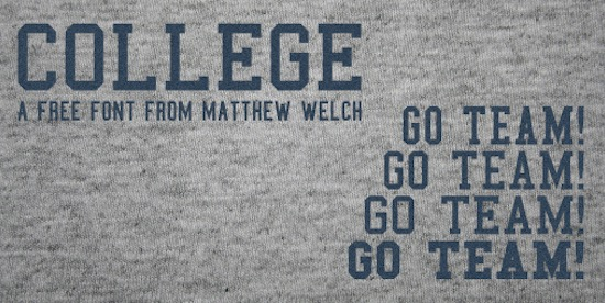 College font
