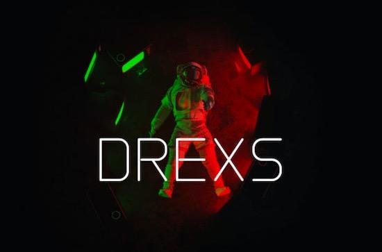 DREXS font download