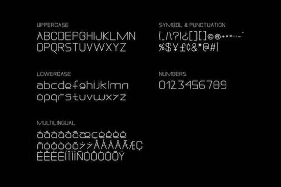 DREXS font free download