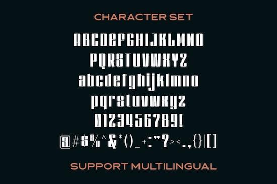 Dankfield font download