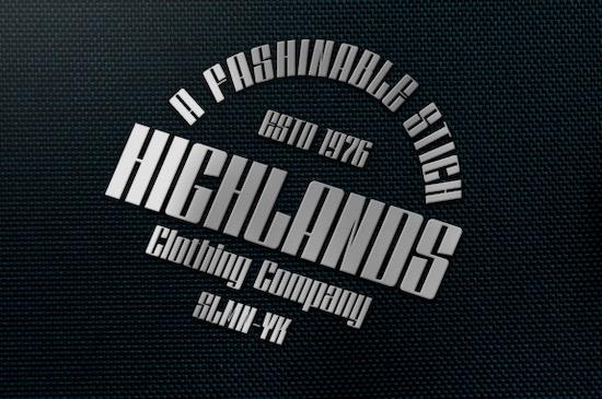 Dankfield font free