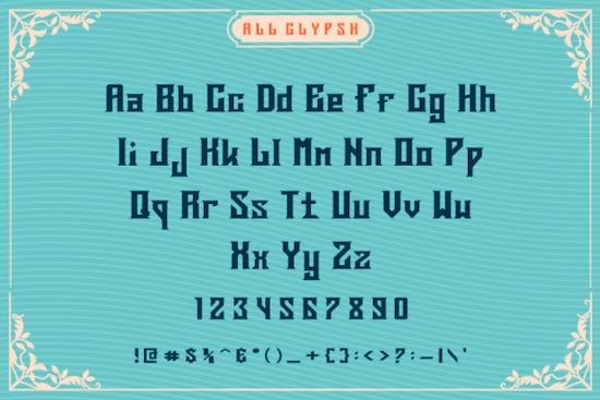 Deargod font download