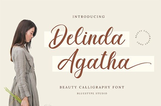 Delinda Agatha font free download