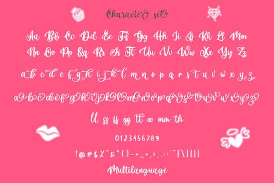 Dellicia font download
