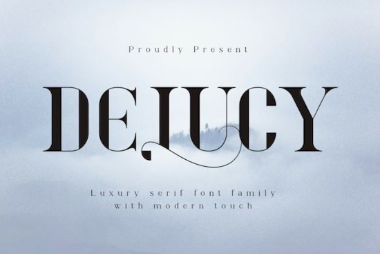 Delucy font free download