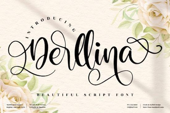 Derllina font free download