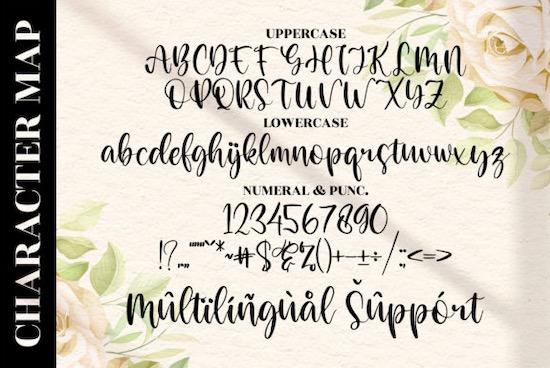 Derllina font free