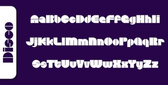 Disco font download