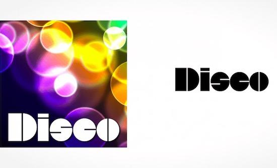 Disco font free download