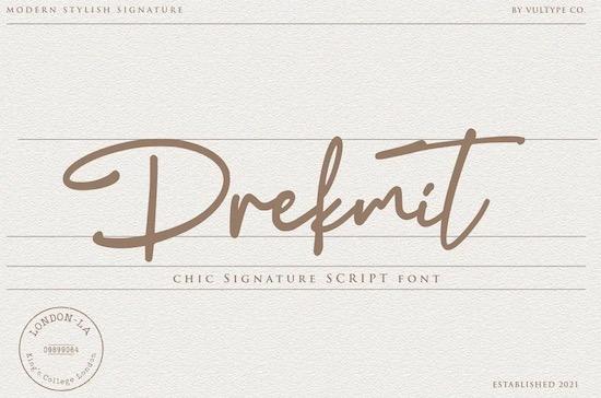Drekmit font free download