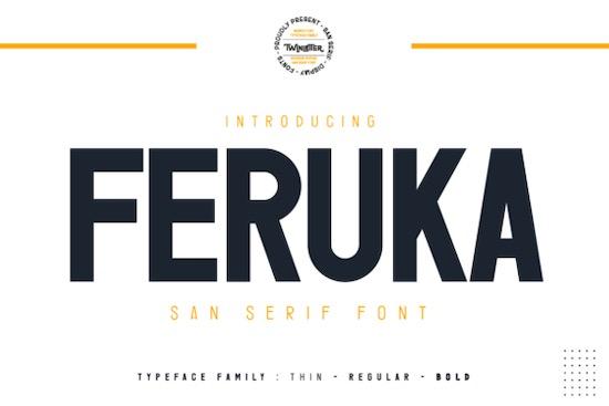 Feruka font free download