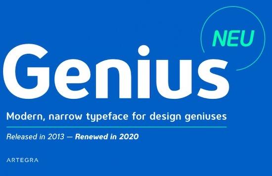 Genius font free download