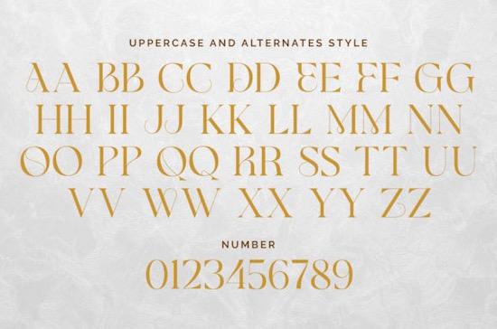 Glamore font download