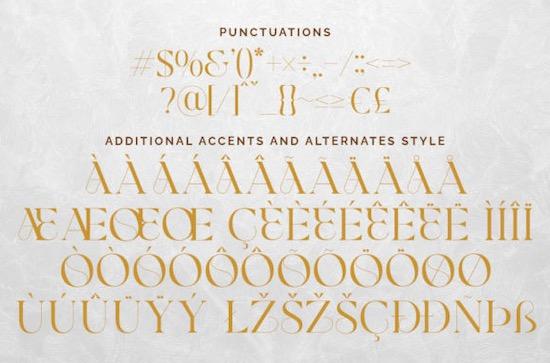 Glamore font free