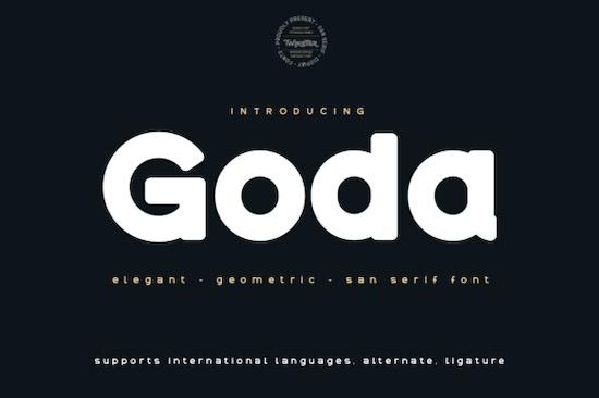 Goda font free download