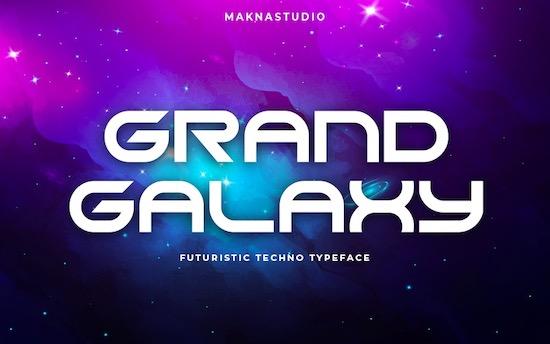 Grand Galaxy font free download