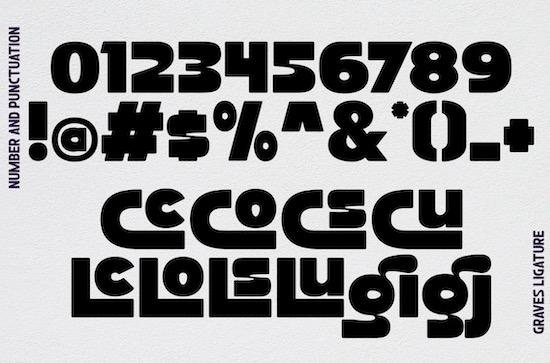Graves font download