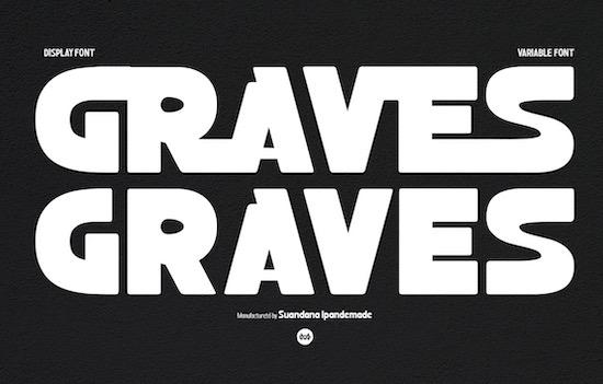 Graves font