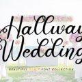 Hallway Wedding font free download