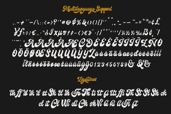 Hallway font download