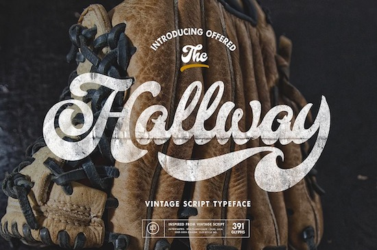 Hallway font free download