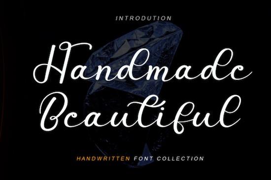 Handmade Beautiful font free download