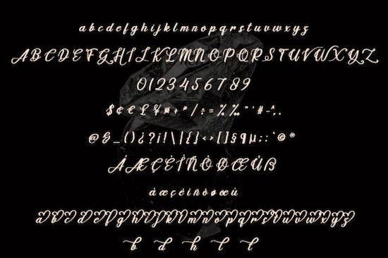 Handmade font download