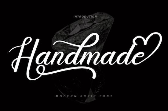 Handmade font free download