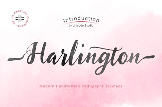 Harlington font free download