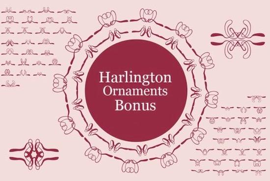 Harlington font free