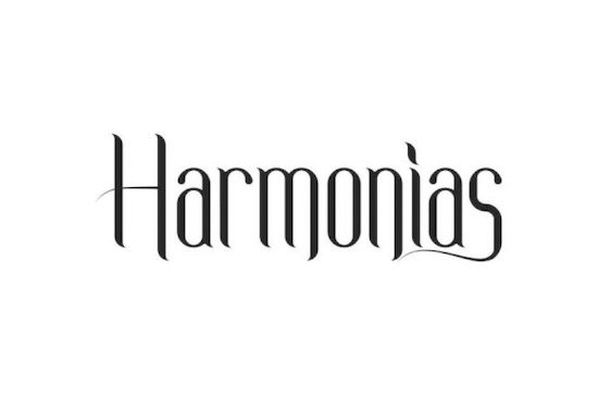 Harmonias font