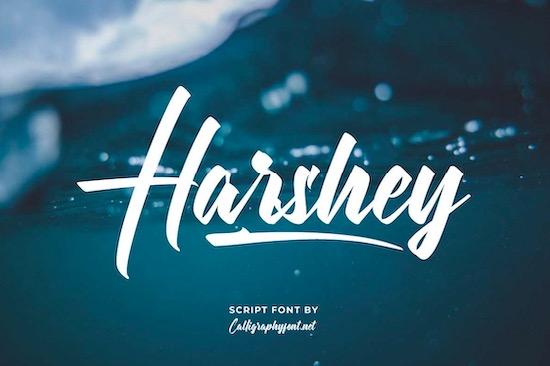 Harshey font