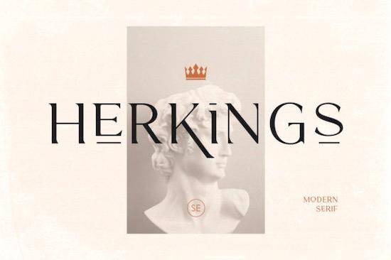 Herkings font free download