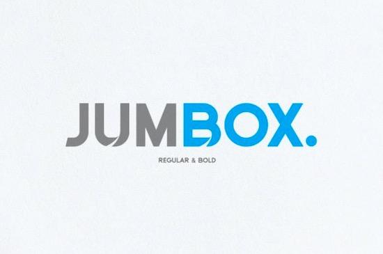 Jumbox font free download
