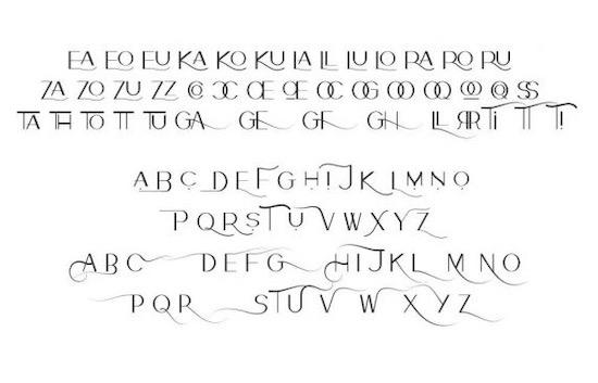 Kalona font free