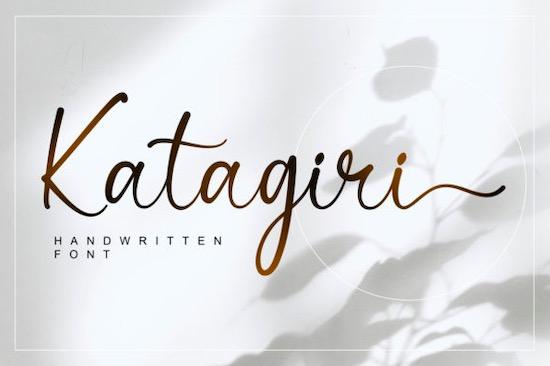 Katagiri font free download