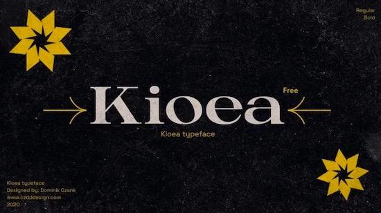 Kioea font download